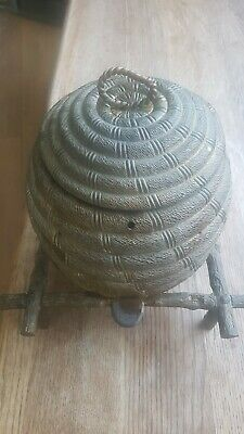19th Century Beehive Sewing Box