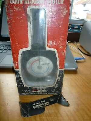 Vintage Space Age Rotatin Dial Comprssion Tester