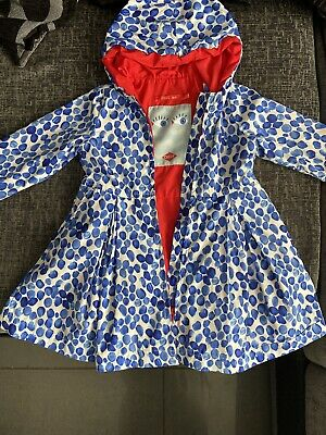 Oilily Girls Rain Mac Coat Age 3