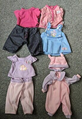 Baby Born Zapf Creations Dolls Clothes Outfits Bundle