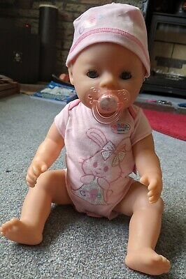 Baby Born Interactive Doll Girl and lots of accessories