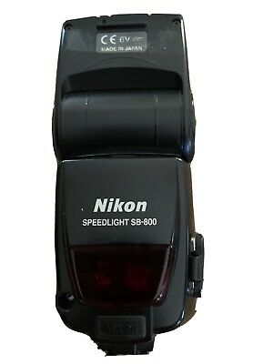 Nikon Speedlight SB-800 Made In Japan With Soft Case