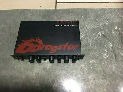 Dragster Car Audio 3-Way Active Crossover