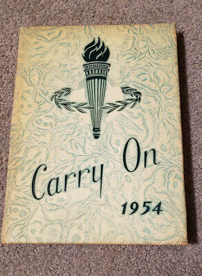 1954 Carry On Yearbook LIFE Bible College Los Angeles, CA