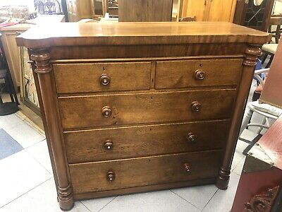 Large Mahogany chest of drawers