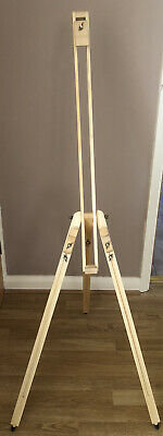 Crimson & Blake Portable Adjustable Solid Wooden Easel With Zip Up Carrying Bag