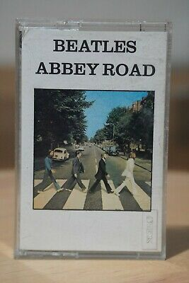 The Beatles 'Abbey Road' Album Audio Cassette Tape