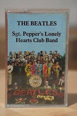 The Beatles 'Sgt. Pepper's Lonely Hearts Club Band' Album Audio Cassette Tape