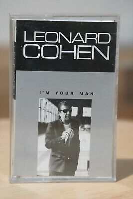 Leonard Cohen 'I'm Your Man' Album Audio Cassette Tape