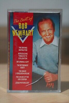 'The Best Of Bob Newhart' Comedy Compilation Album Audio Cassette Tape
