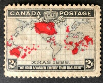 Canada  1898 # 85 Imperial Penny Post  Mnh Fine
