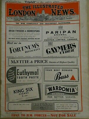 The Illustrated London News magazine        March 11. 1944