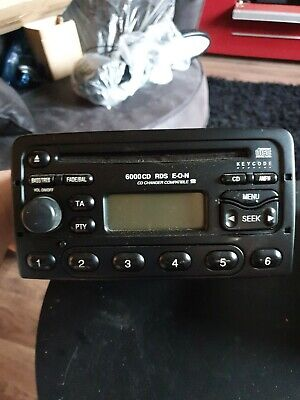 Ford Focus Fiesta Connect Transit  6000 CD/Radio no code in working order