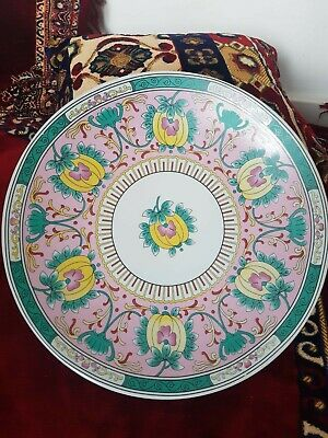 Antique Imperial Russian Gardner Porcelain Big Charger Plate