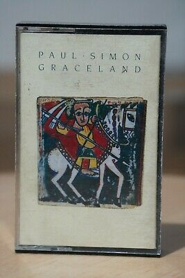 Paul Simon 'Graceland' Album Audio Cassette Tape