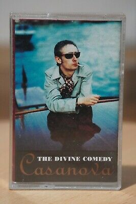 The Divine Comedy 'Casanova' Album Audio Cassette Tape