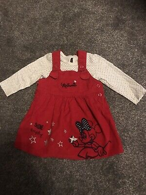 Baby Girls 6-9 Disney Minnie Mouse Outfit George