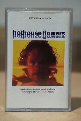 Hothouse Flowers 'Songs From The Rain' Album Sampler Audio Cassette Tape