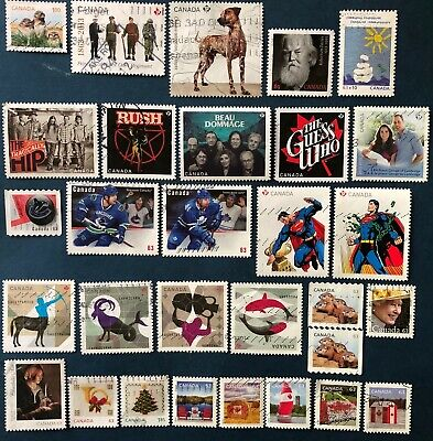 Canada 2013 - 29  Used Stamps With 3 Sets