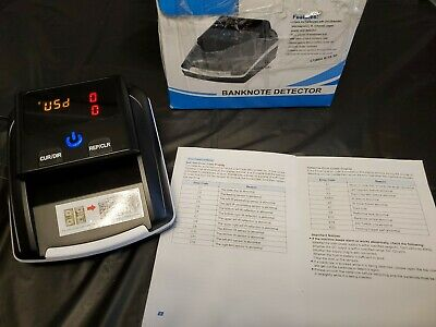 Small Portable Banknote Detector. Tested Works