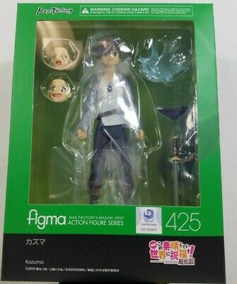 Figma Kazuma Action Figure - Authentic - KonoSuba - NEW Sealed - Free Shipping
