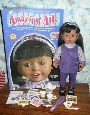Amazing Ally  Dark Skin Interactive Doll  by Playmates