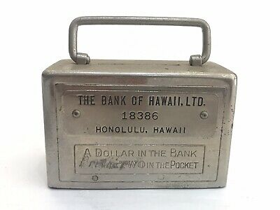 Vintage Bank of Hawaii, Honolulu Coin Savings Bank, Safe