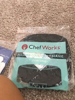 Chef Works Black BEANI