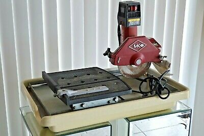 "Vintage  MK Diamond  MK-370 1/2"" HP, 5.3 Amps/ 7"" Wet Cutting Tile Saw"
