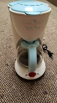 Hello Kitty Sanyo  White & Blue Coffee Maker Official Sanrio