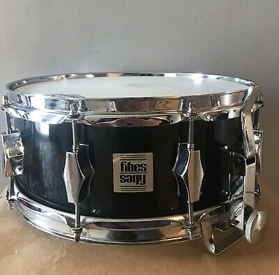 Fibes 70's Fiberglass Snare Drum- Black Finish!