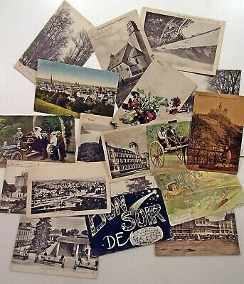 18, 1906>1919 Military Postcard Correspondence Posted From Germany And France