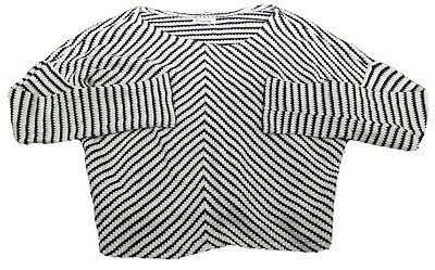 Girls River Island Ribbed Thin Knit Jumper Age 11-12 Years - Rrp £29 -