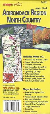 Map of Adirondack Region & North Country, New York, by MapWorks