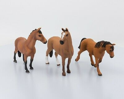 Schleich Bay Horses Lot of 3