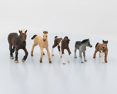 Schleich Foals Lot of 5