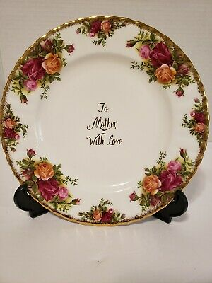 Royal Albert Bone China Old Country Rose Mother Plate