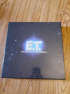 E.T The Extra-Terrestrial' deluxe 1996 laserdisc box set in ex play tested cond