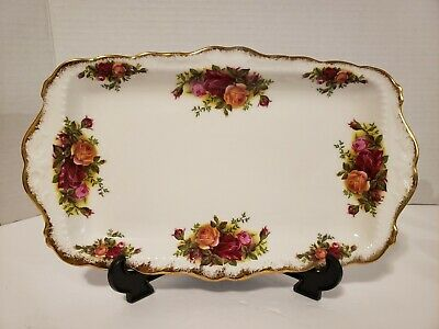 Royal Albert Old Country Rose Rectangle  Serving Dish