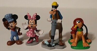 Disney Mickey and Friends PVC Figure Lot Of 4