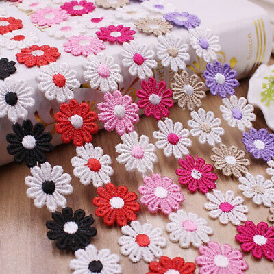 Sun Flower Water Soluble Lace Lace Trim Apparel Fabric Sewing Accessories