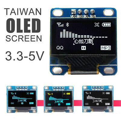 """128X64 0.96"""" OLED I2C IIC Serial LCD LED SSD For Arduino Display Module Clip↙↙"""