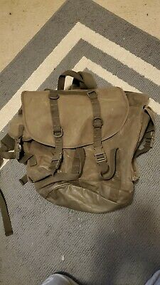 German Canvas Military Assault Backpack Vintage Ruck
