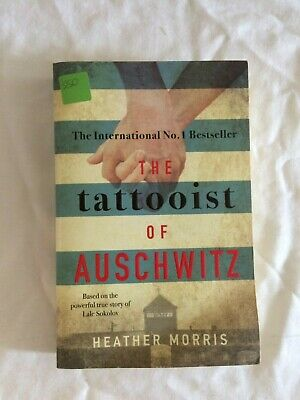 The Tattooist Of Auschwitz Heather Morris Paperback Book Charity Sale #CF-B24