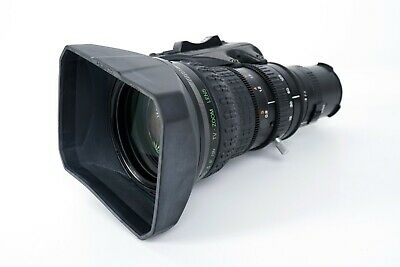 Fujinon LENS S19x6.5BRM-24 and FOCUS CONTROLLER CFH-3 and FMM-6B. Broadcast TV