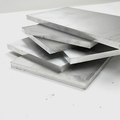 ".625"" thick Aluminum 6061 PLATE lot various sizes (sizes in Desc ) 34lbs @ $2.90"