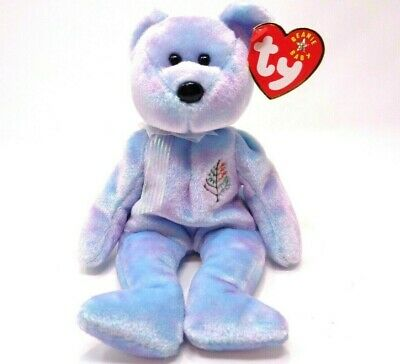 Ty Beanie Baby ~ Issy (Los Angeles) Bear (8 inch) 2001 Mint Tags~ Plush ~Retired