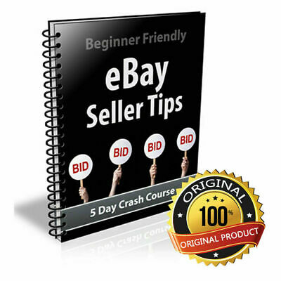 Ebay Seller Tips Book (Ebooks-Pdf) With Resell Rights Fast Delivery With Bonus