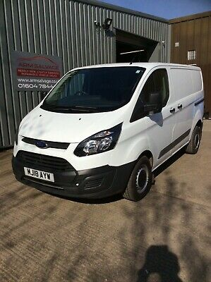 Ford Transit Custom 270 2.0 Euro6  6 Speed 2018 1 owner 29k Drive it home today