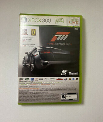 Forza Motorsport 3 Halo 3 ODST Double Pack ( Microsoft Xbox 360, 2009) Cib